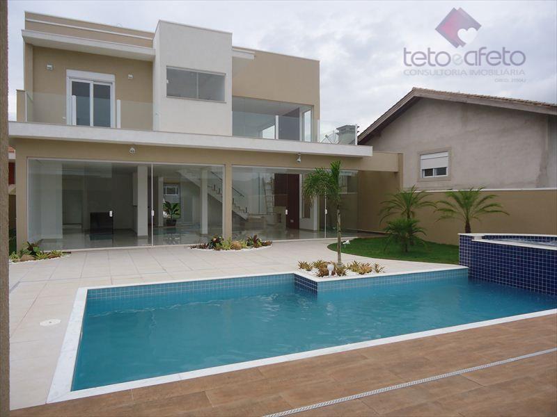 Imobiliária em Atibaia - Sobrado de alto padrão (luxo) residencial à venda, Condomínio Fechado, Atibaia - CA2295.
