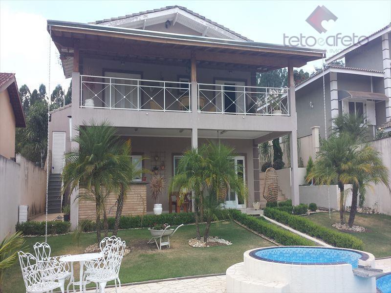 Chácara residencial à venda, Condomínio Fechado, Atibaia - CH0124.
