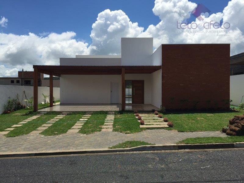 Casa residencial à venda, Condomínio Fechado, Atibaia - CA2558.