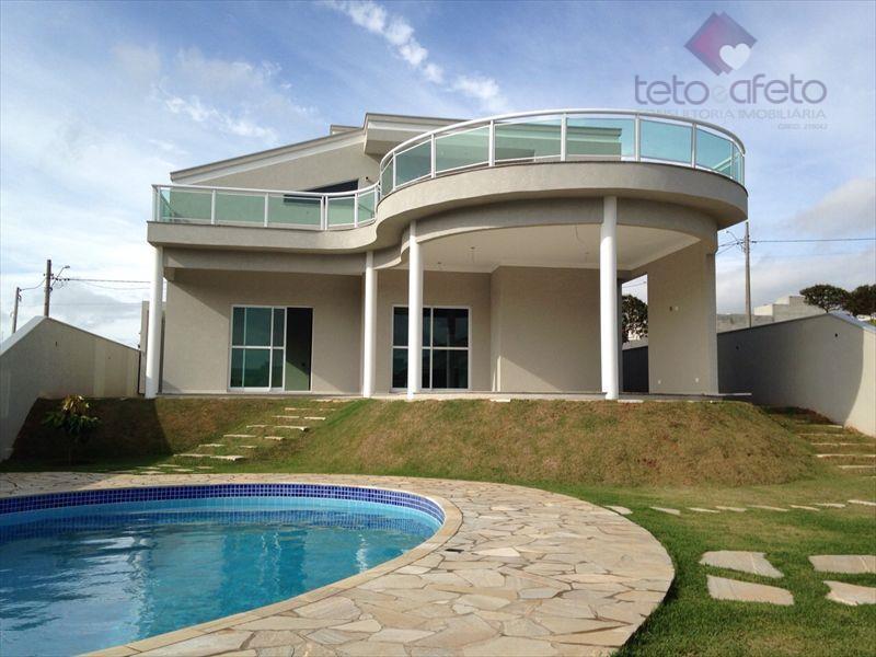 Casa residencial à venda, Alto Padrão, Condomínio Fechado, Atibaia - CA2582.