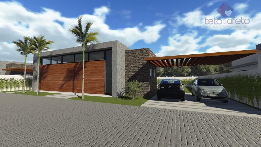 Casa residencial à venda, Condomínio Fechado, Atibaia - CA2693.