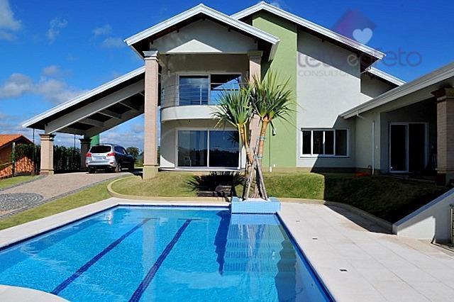 Sobrado residencial à venda, Condomínio Fechado, Atibaia - SO0069.