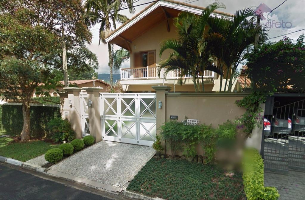 Imobiliária em Atibaia - Casa Sobrado residencial à venda, Jardim Floresta, Atibaia - SO0064. Alto padrão.