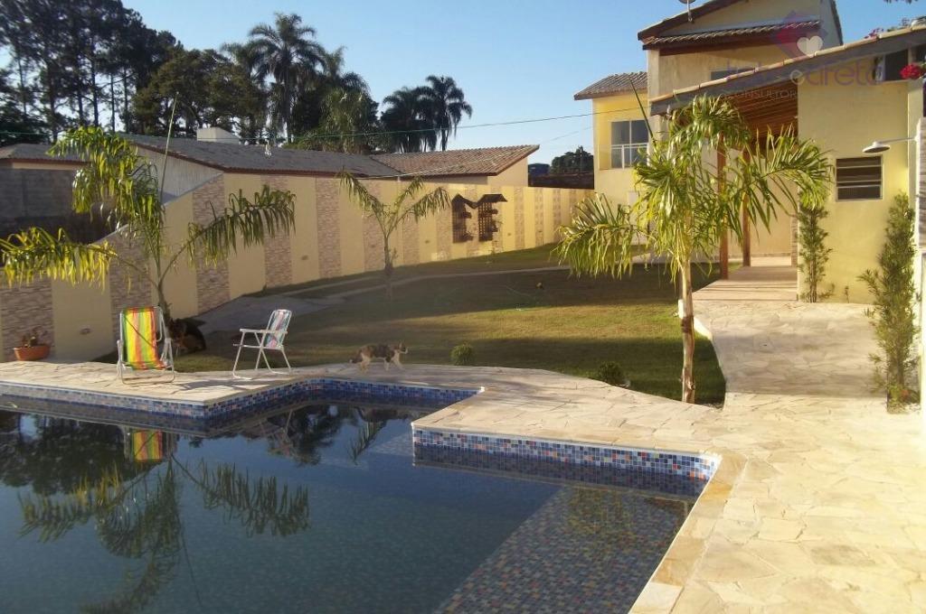 Imobiliária em Atibaia - Casa residencial à venda, Jardim Estância Brasil, Atibaia - CA2777.