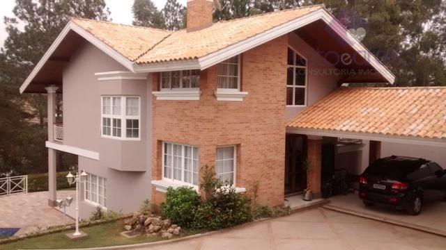 Imobiliária em Atibaia - Sobrado residencial à venda, Condomínio Fechado, Atibaia - SO0122.