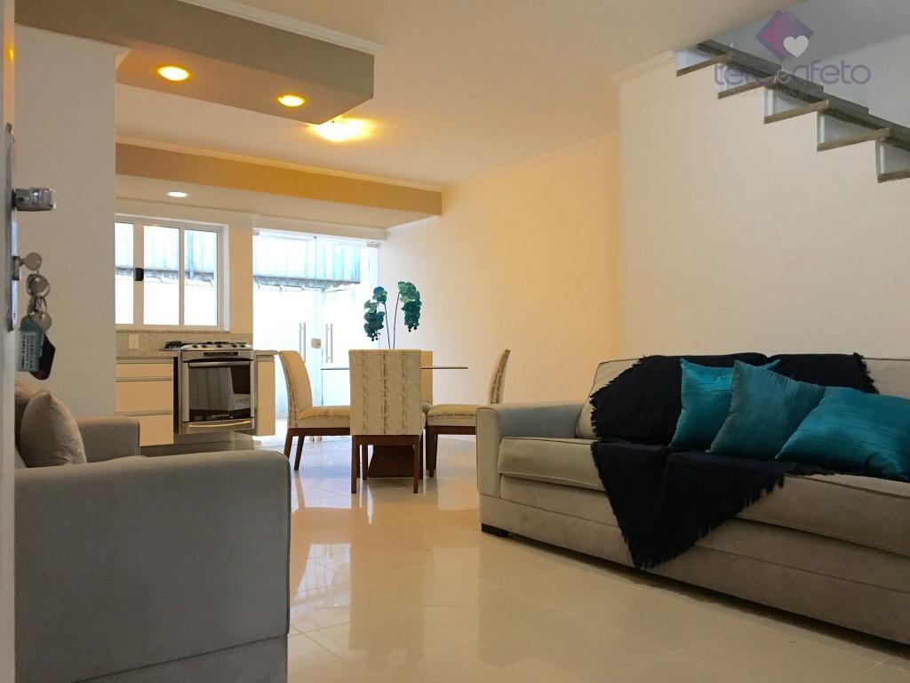 Imobiliária em Atibaia - Casa à venda na Vila Giglio em Atibaia, Condomínio Fechado.