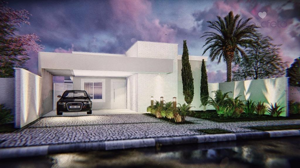 Imobiliária em Atibaia - Casa térrea residencial à venda em Condomínio Fechado em Atibaia.
