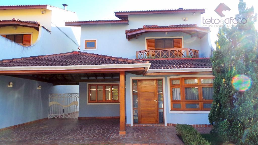 Imobiliária em Atibaia - Sobrado residencial à venda ao lado da Al Lucas Nogueira Garcez em Atibaia.