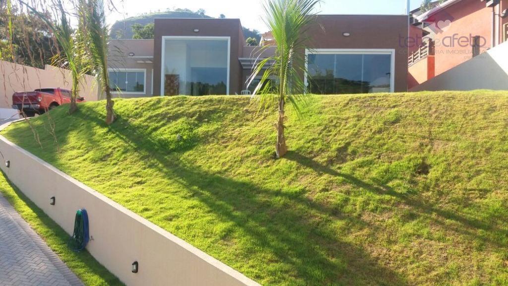 Casa residencial à venda, Condomínio Fechado, Atibaia.
