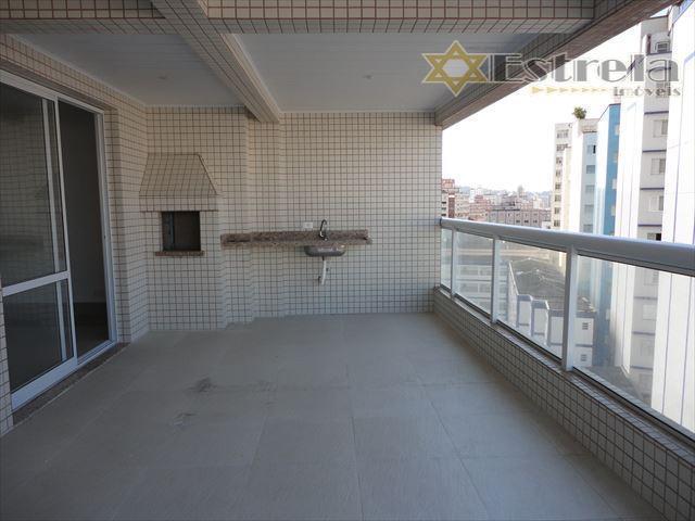 Apartamento Residencial à venda, Boqueirão, Praia Grande - AP0721.