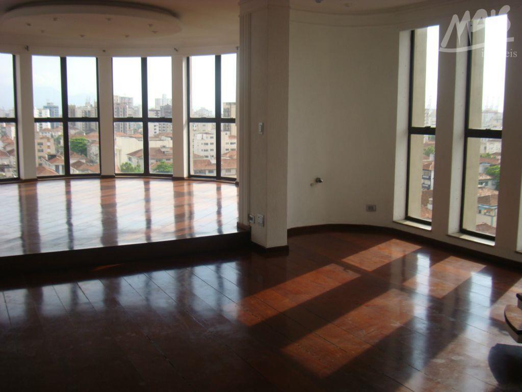 Cobertura residencial à venda, Boqueirão, Santos - CO0069.
