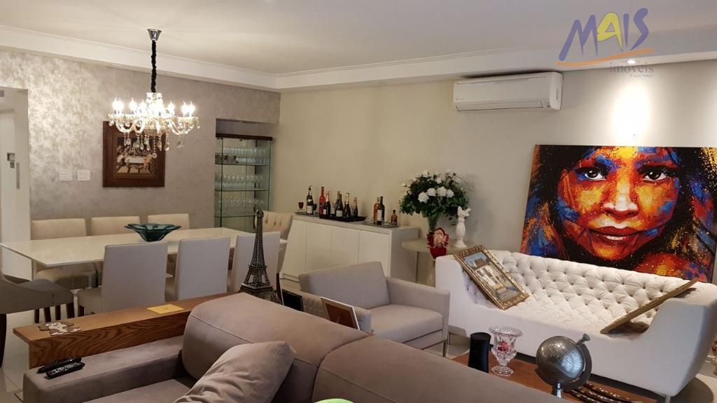 apartamento de frente, elevador privativo, amplo, 3 dormitórios com armários embutidos sendo 1 suíte, sala 3...