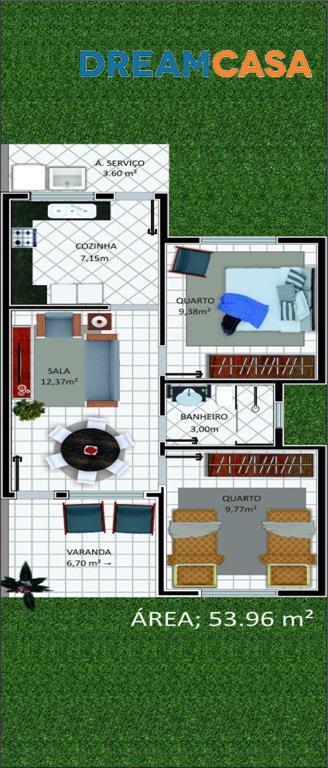 Casa 2 Dorm, Rua do Fogo, São Pedro da Aldeia (CA0171) - Foto 3