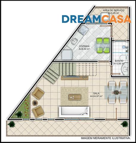 Casa 2 Dorm, Bananeiras, Araruama (CA0849) - Foto 4