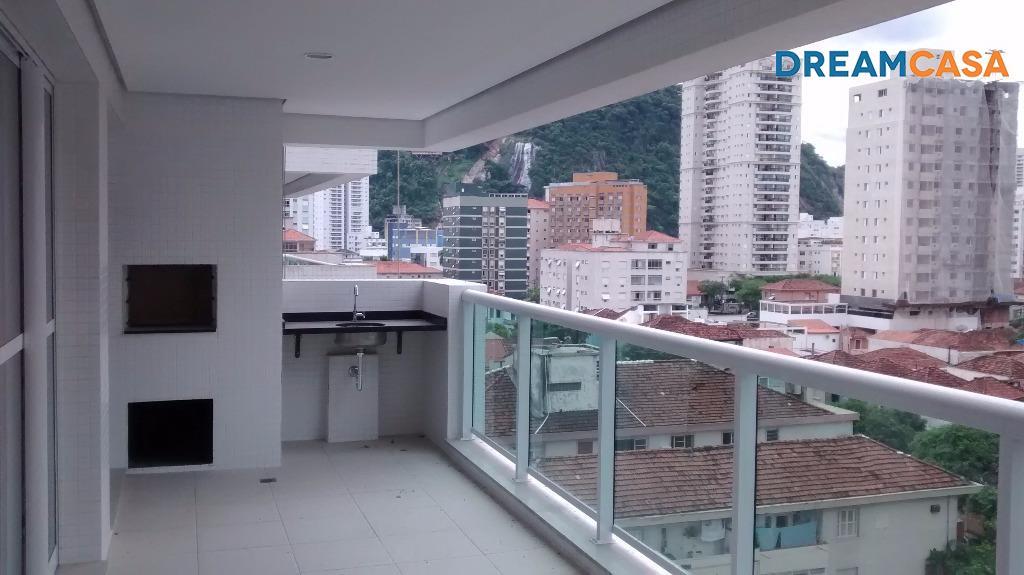 Apto 4 Dorm, Pompéia, Santos (AP1278)