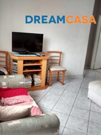 Apto 2 Dorm, Campo Grande, Santos (AP1401)