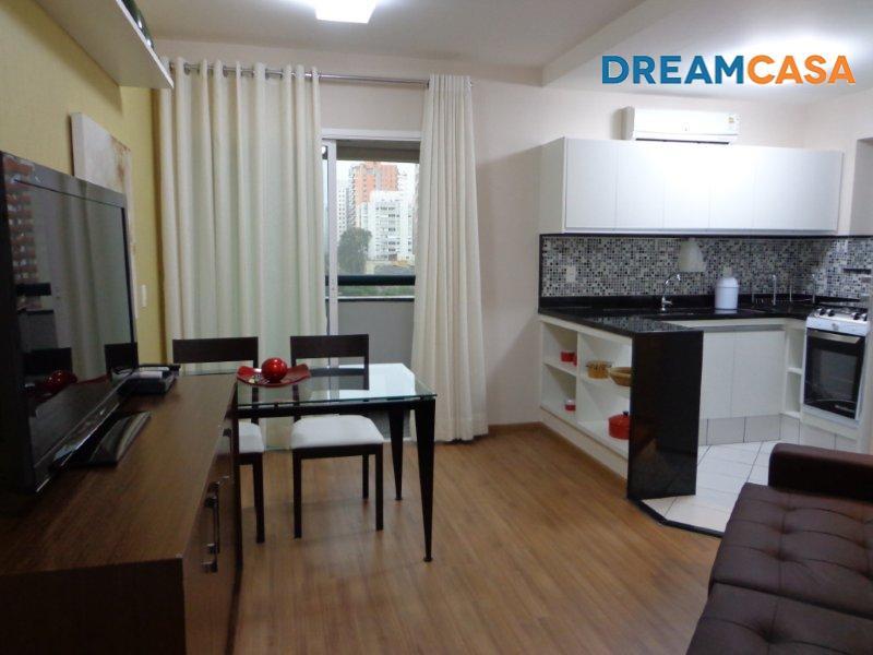 Flat 1 Dorm, Itaim Bibi, São Paulo (FL0030) - Foto 5