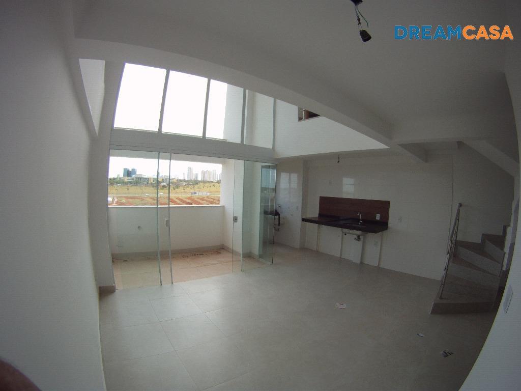Flat 1 Dorm, Park Lozandes, Goiânia (FL0084) - Foto 3