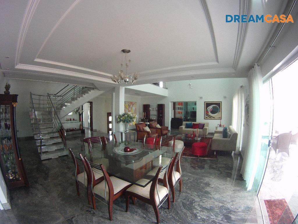 Casa 4 Dorm, Residencial Alphaville, Goiânia (SO0133) - Foto 2