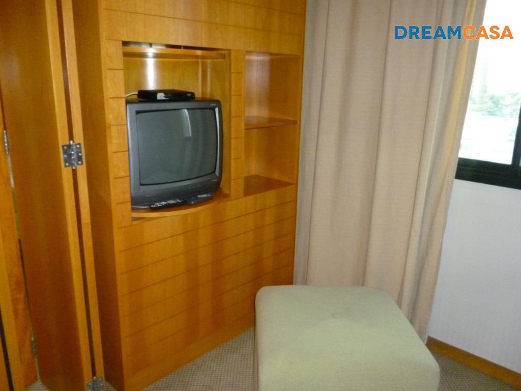 Flat 1 Dorm, Moema, São Paulo (FL0098) - Foto 4