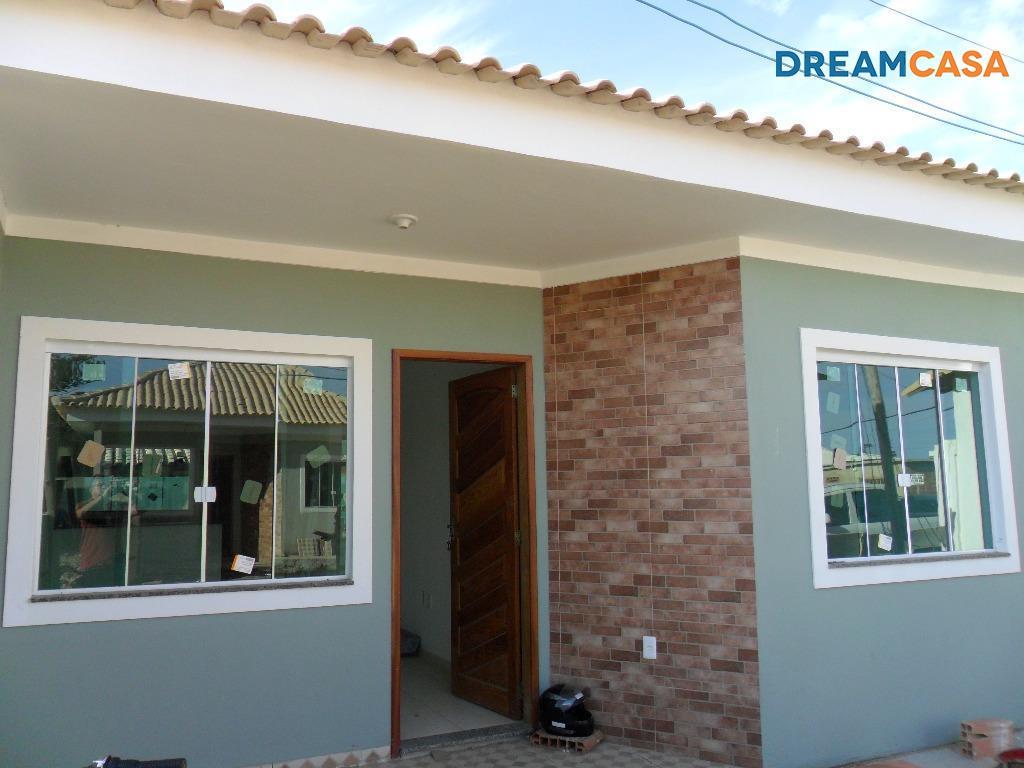 Casa 2 Dorm, Bananeiras, Araruama (CA1548)