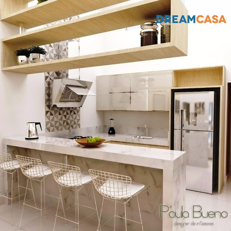 Imóvel: Casa 2 Dorm, Moinho dos Ventos, Goiânia (CA1550)