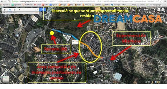 Terreno, Pau da Lima, Salvador (TE0346)