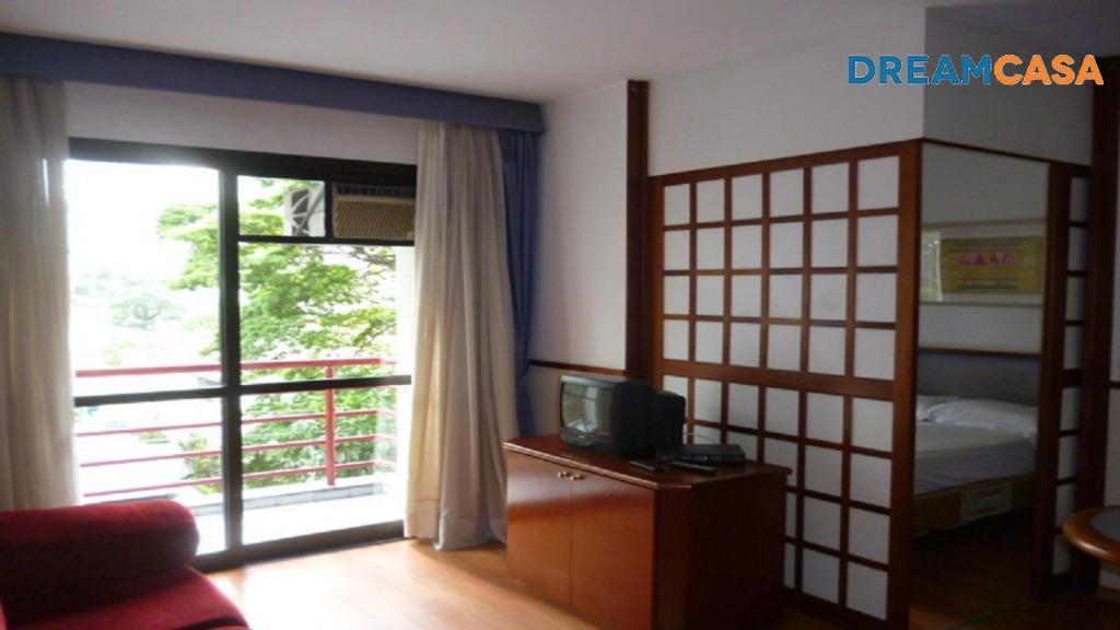 Flat 1 Dorm, Moema, São Paulo (FL0126)