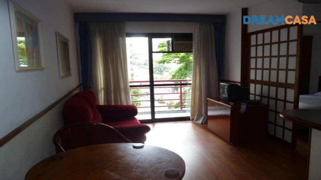 Flat 1 Dorm, Moema, São Paulo (FL0126) - Foto 3