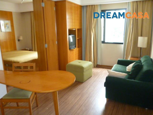 Flat 1 Dorm, Moema, São Paulo (FL0133)