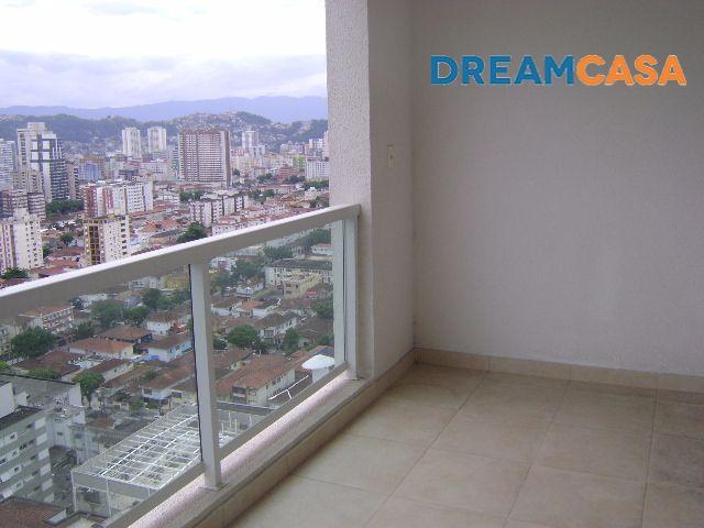 Apto 2 Dorm, Boqueirão, Santos (AP4596)