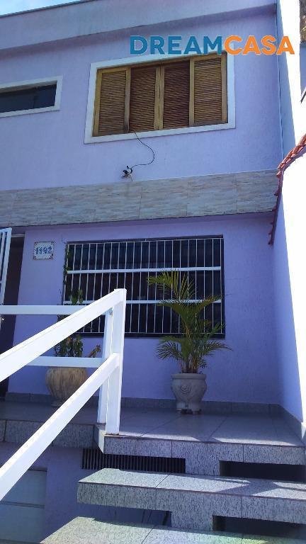 Casa 3 Dorm, Vila Camilópolis, Santo André (SO0251)