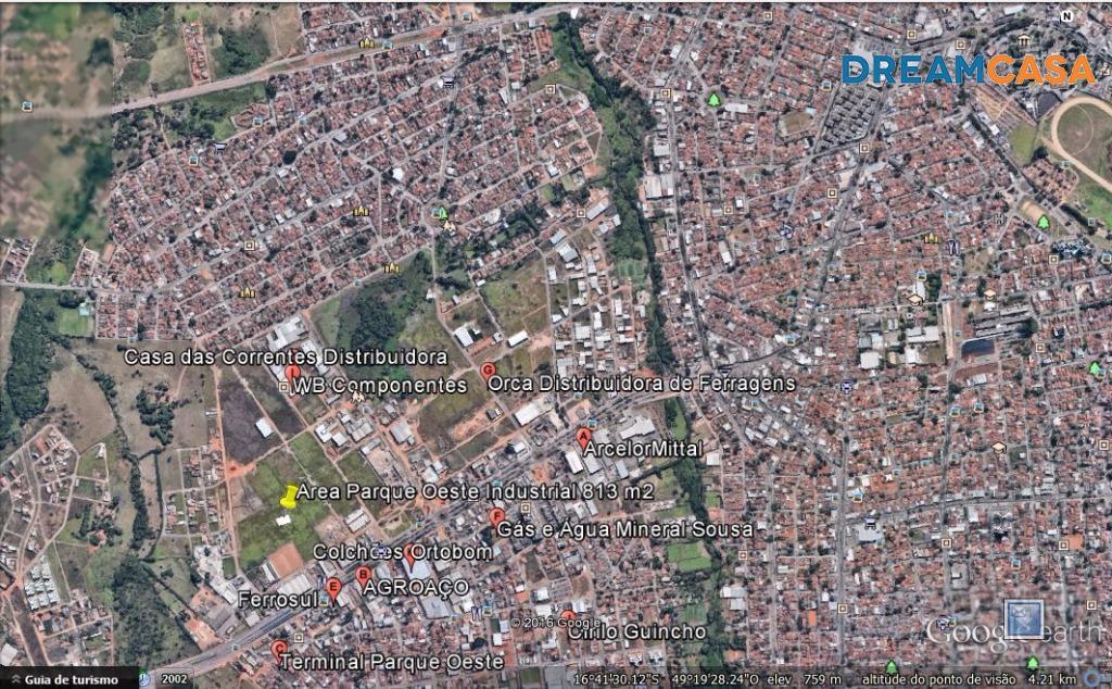 Terreno, Parque Oeste Industrial, Goiânia (AR0042) - Foto 3