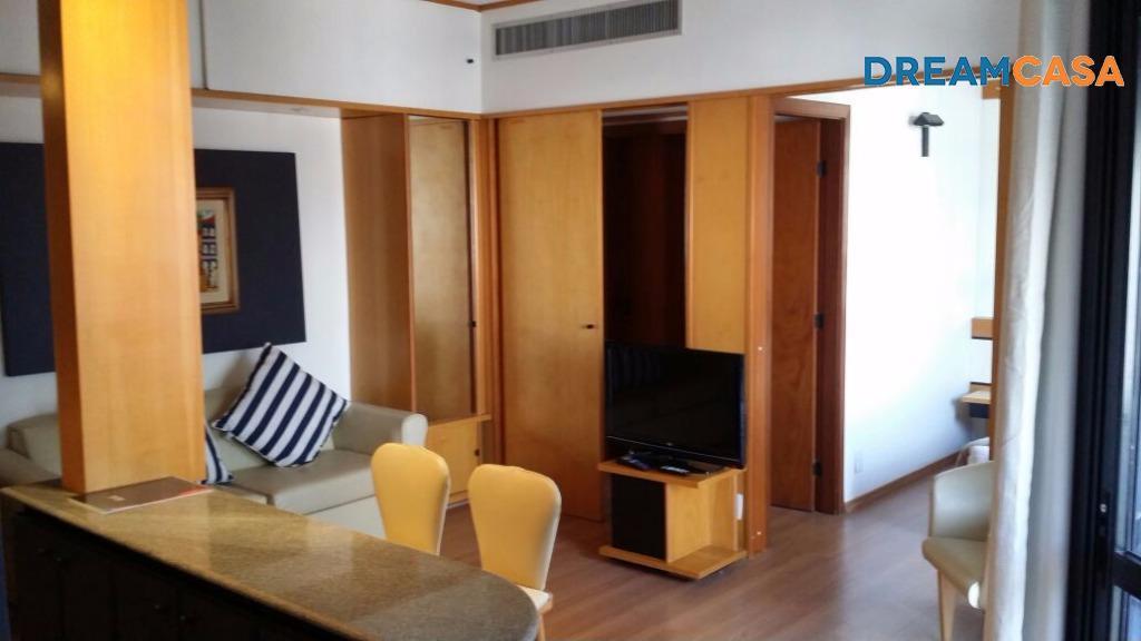 Flat 1 Dorm, Jardim Europa, São Paulo (FL0179)