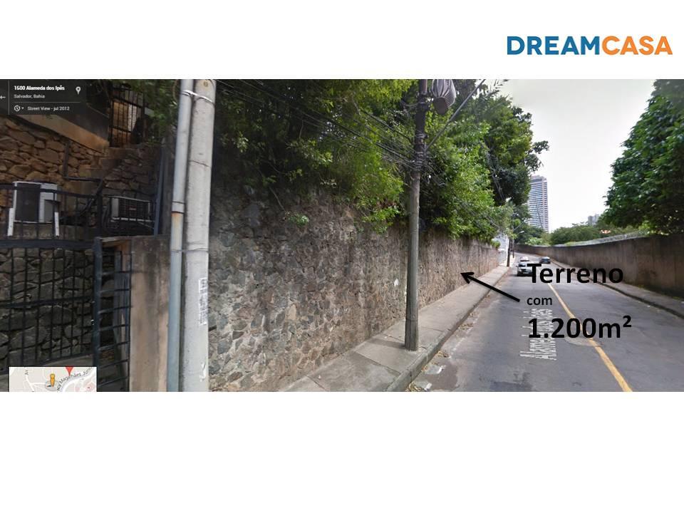 Imóvel: Terreno, Horto Florestal, Salvador (TE0519)