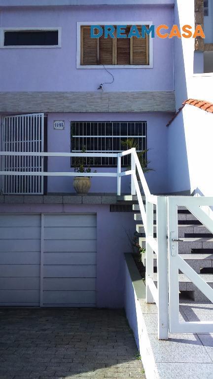 Casa 3 Dorm, Vila Camilópolis, Santo André (SO0348)