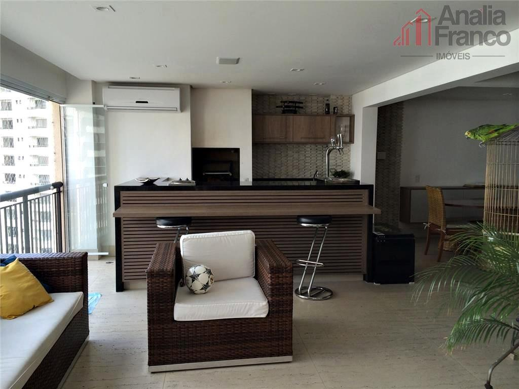 Apartamento residencial à venda, Jardim Anália Franco, São Paulo - AP3255.