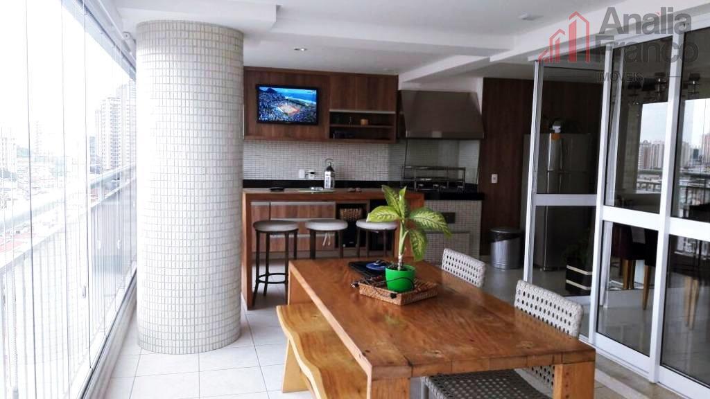 Apartamento residencial à venda, Tatuapé, São Paulo - AP4804.