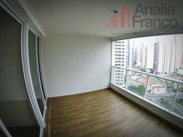 Apartamento residencial para venda e locação, Jardim Anália Franco, São Paulo - AP3326.