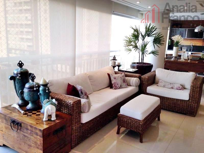 Apartamento residencial à venda, Tatuapé, São Paulo - AP4842.
