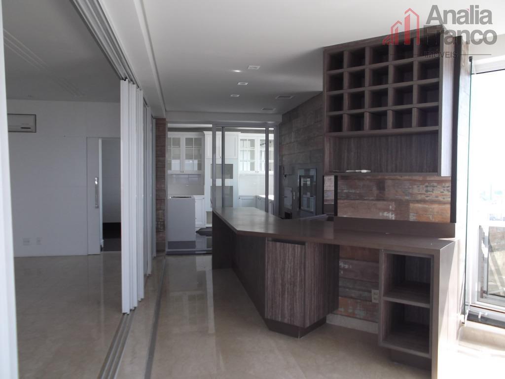 Apartamento residencial à venda, Jardim Anália Franco, São Paulo.