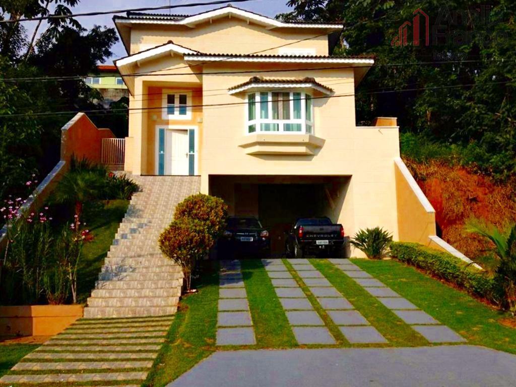Sobrado residencial à venda, Aruã, Mogi das Cruzes - SO1525.