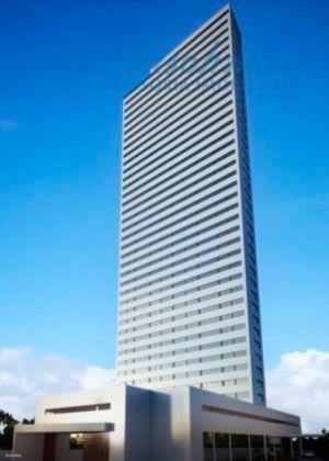 Flat com 1 dormitório à venda, 34 m² por R$ 375.000 - Ilha do Leite - Recife/PE
