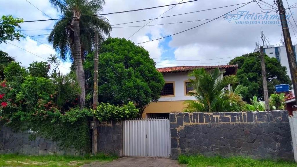 Casa com 3 dormitórios para alugar, 626 m² por R$ 3.000/mês - Prado - Recife/PE
