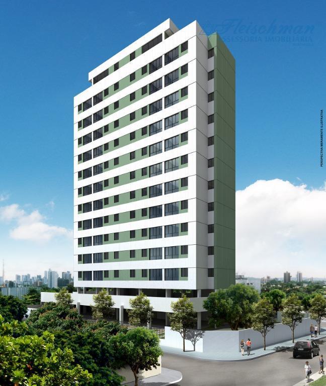Apartamento com 2 dormitórios à venda, 55 m² por R$ 317.500 - Encruzilhada - Recife/PE