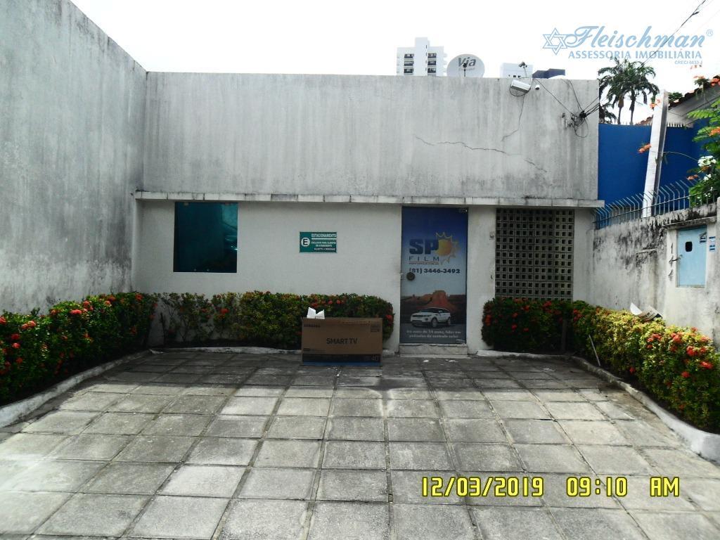 Casa com 5 dormitórios para alugar, 120 m² por R$ 3.000/mês - Madalena - Recife/PE