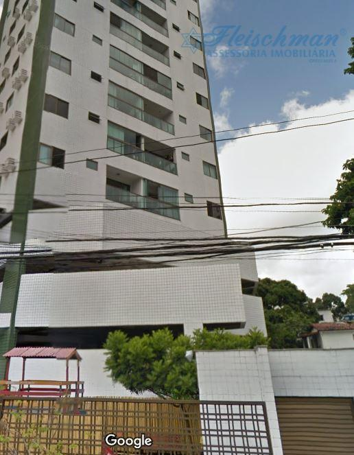 Apartamento com 3 dormitórios à venda, 85 m² por R$ 520.000 - Casa Forte - Recife/PE
