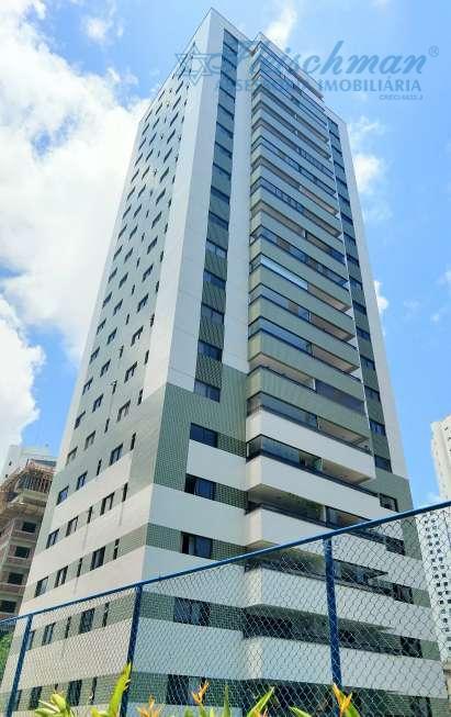 Apartamento com 3 dormitórios para alugar, 157 m² por R$ 5.300/mês - Graças - Recife/PE