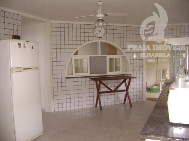 casa altissimo padrão em condominio com total segurança.vista magnifica para o yacht club de ilhabela.