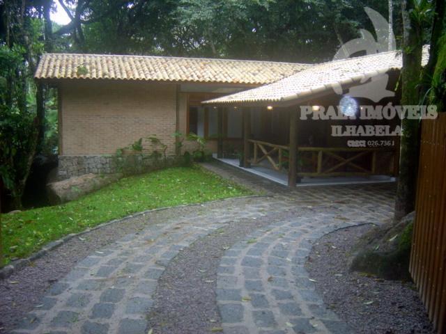 Casa residencial para locação, Cocaia, Ilhabela.